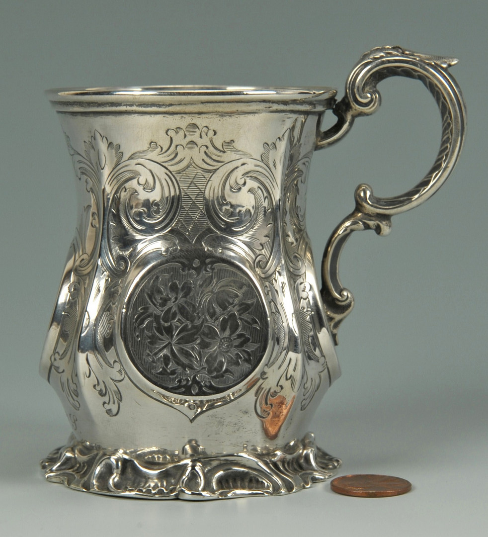 Lot 55: Victorian British Sterling Cup