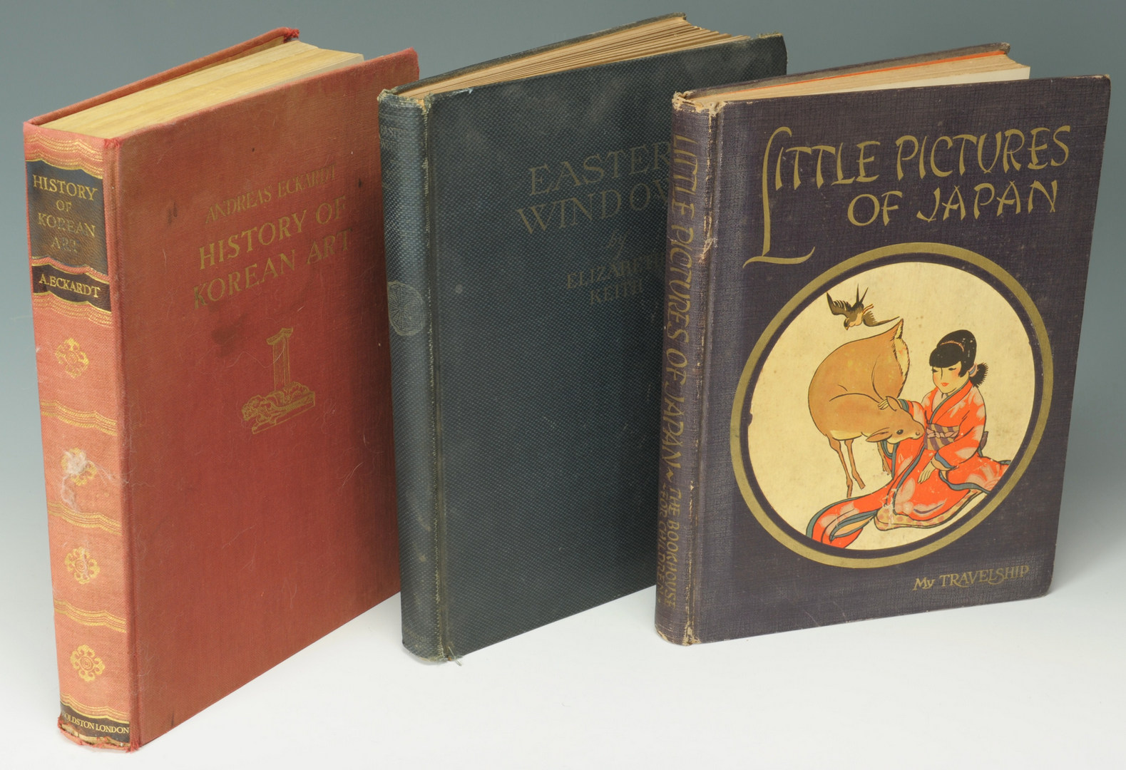 Lot 560: Group of 6 Asian Themed Books