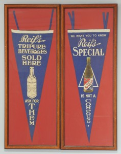 Lot 571: 2 Chattanooga Brewing Co. Pennants