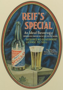 """Lot 572: """"Reif's Special"""" Chattanooga, TN Advertising Litho"""