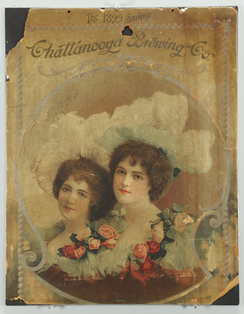 Lot 574: 1899 Chattanooga Brewing Company Lithograph