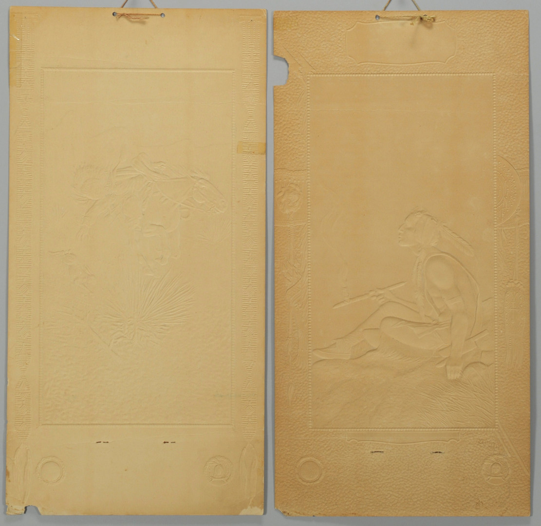 Lot 577: 1923 and 1925 Native American Themed Calendars