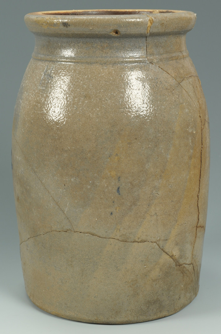 Lot 579: Nashville TN Stoneware Canning Jar
