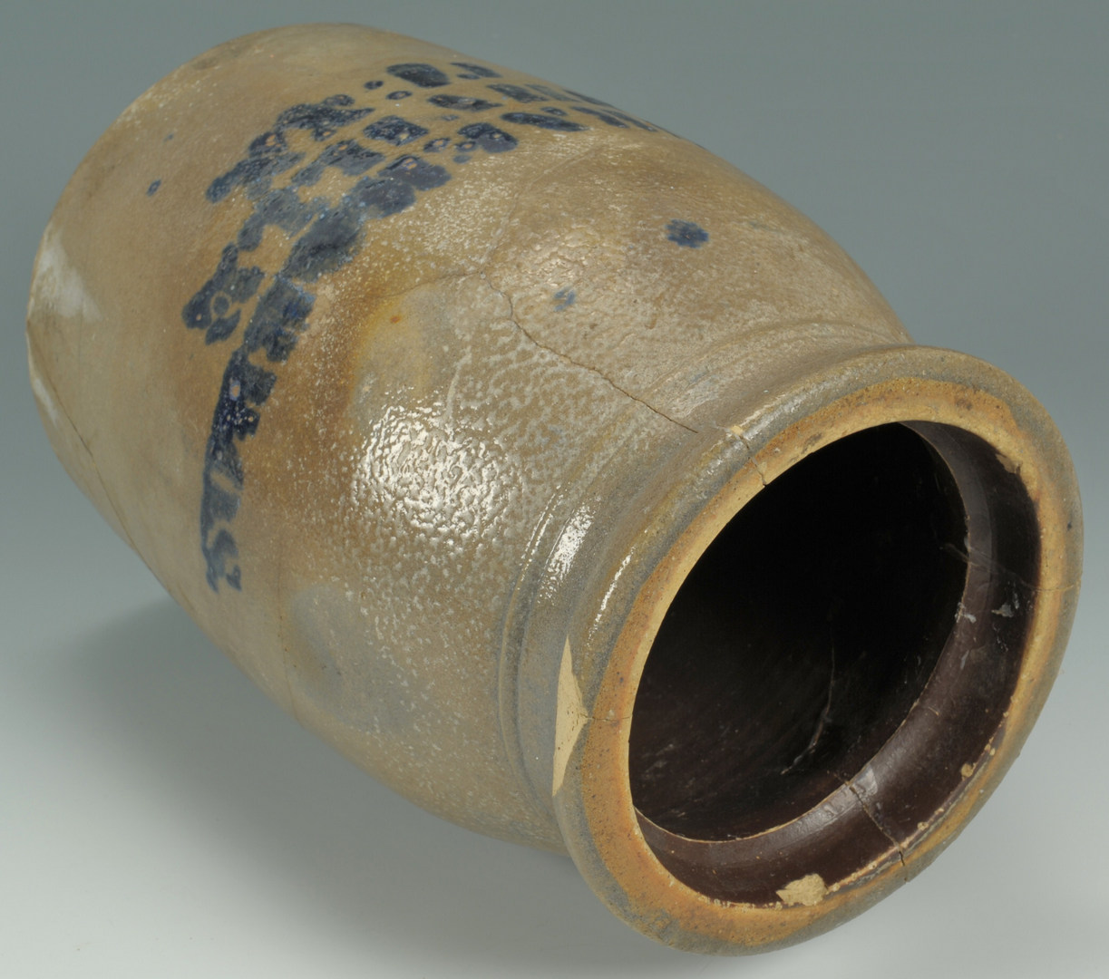 Lot 579: Nashville TN Stoneware Canning Jar
