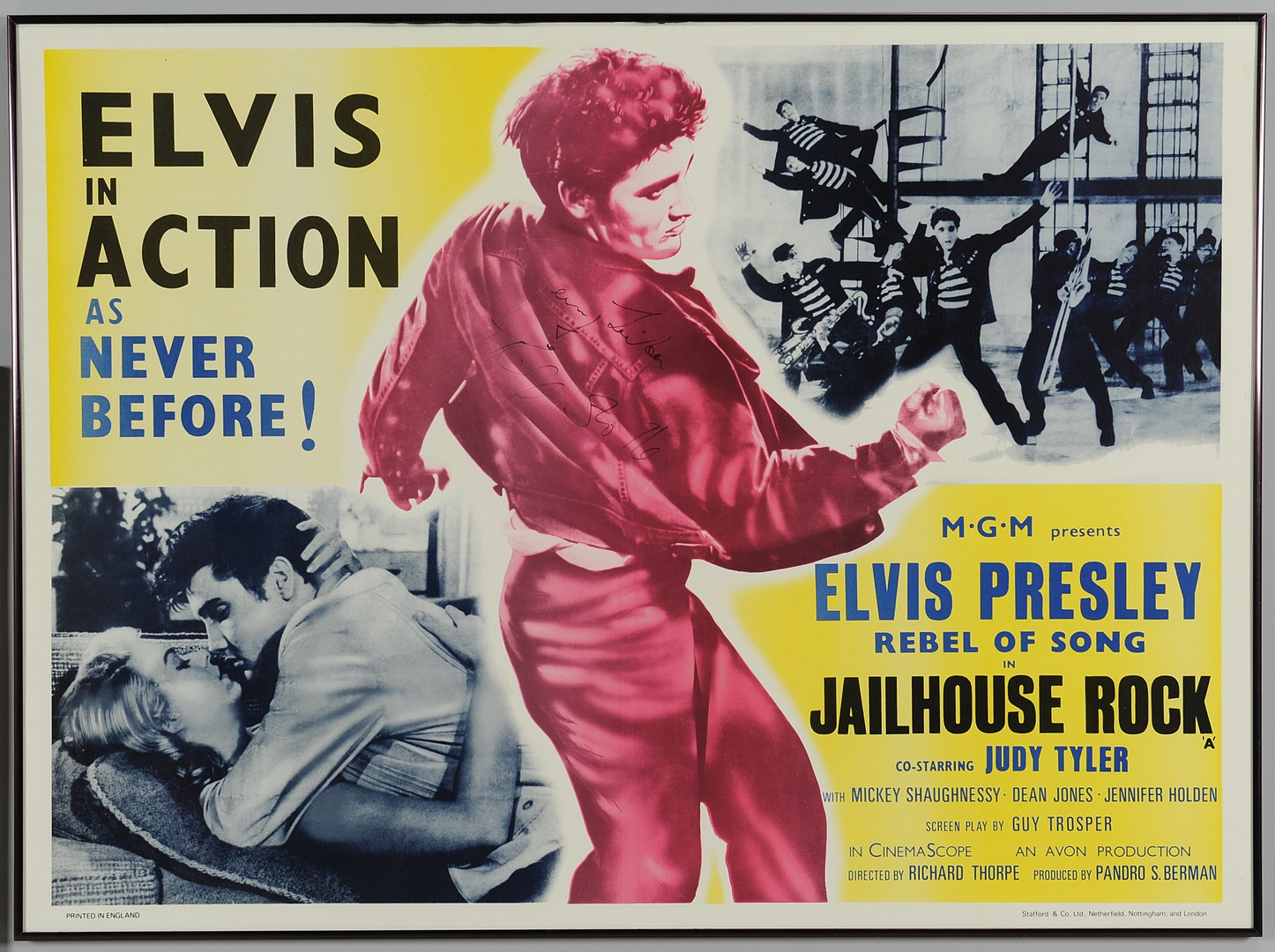 Lot 595: Elvis Presley Related Archive, Posters & Music