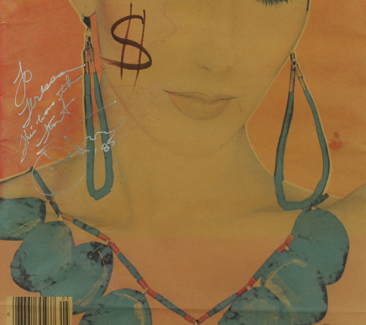 Lot 600: Andy Warhol-signed Interview Magazine Cover