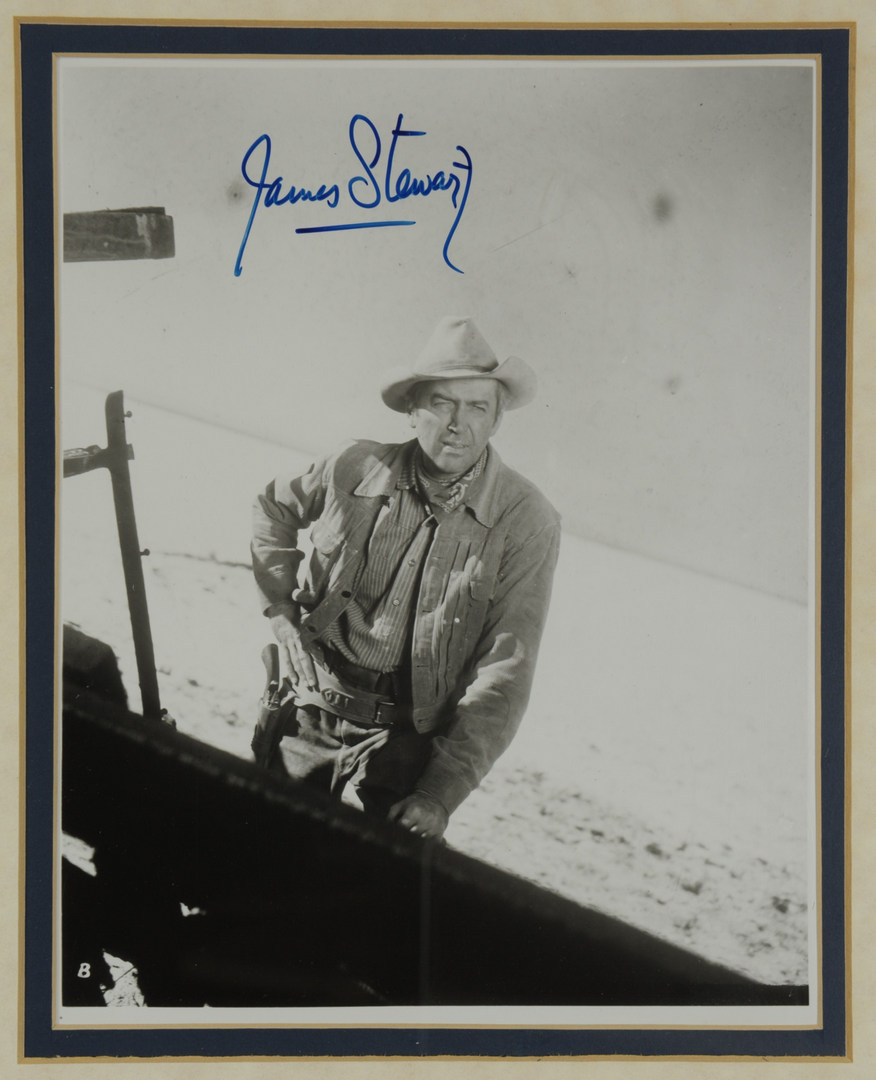 Lot 601: Signed Hollywood Western Photographs