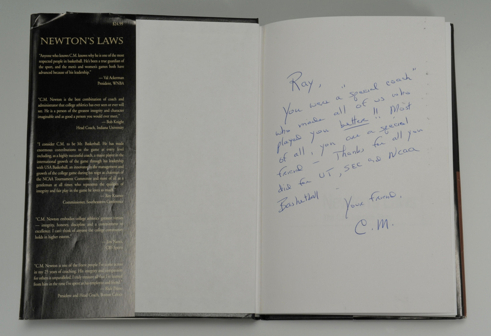 Lot 604: Collection of 9 signed books to Ray Mears