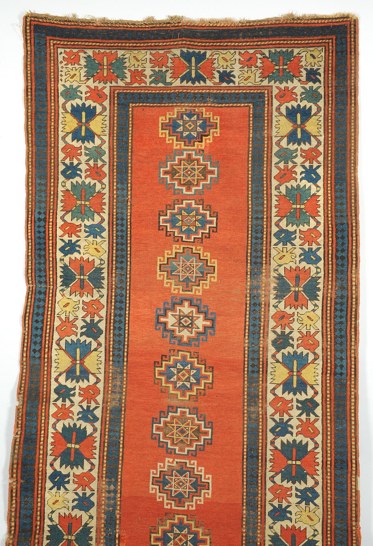 Lot 615: Kazak Runner, Caucasian, early 20th c.