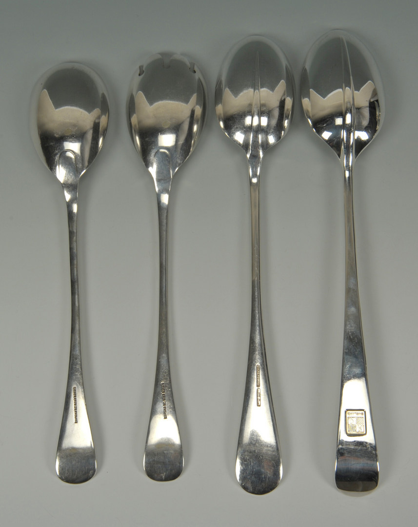 Lot 630: Group of Sterling & Plated Table Items, 11 pcs