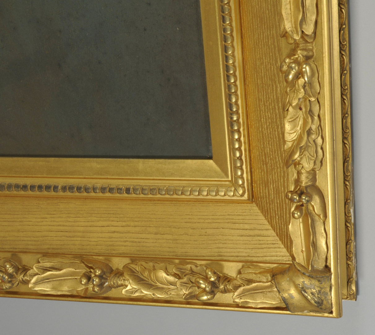 Lot 635: Two Am. Neoclassical Gilt Wood Frames, 19th c