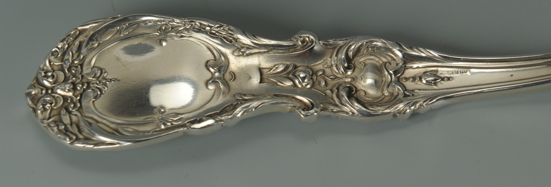 Lot 63: Reed & Barton Francis I Sterling Tray and Ladle