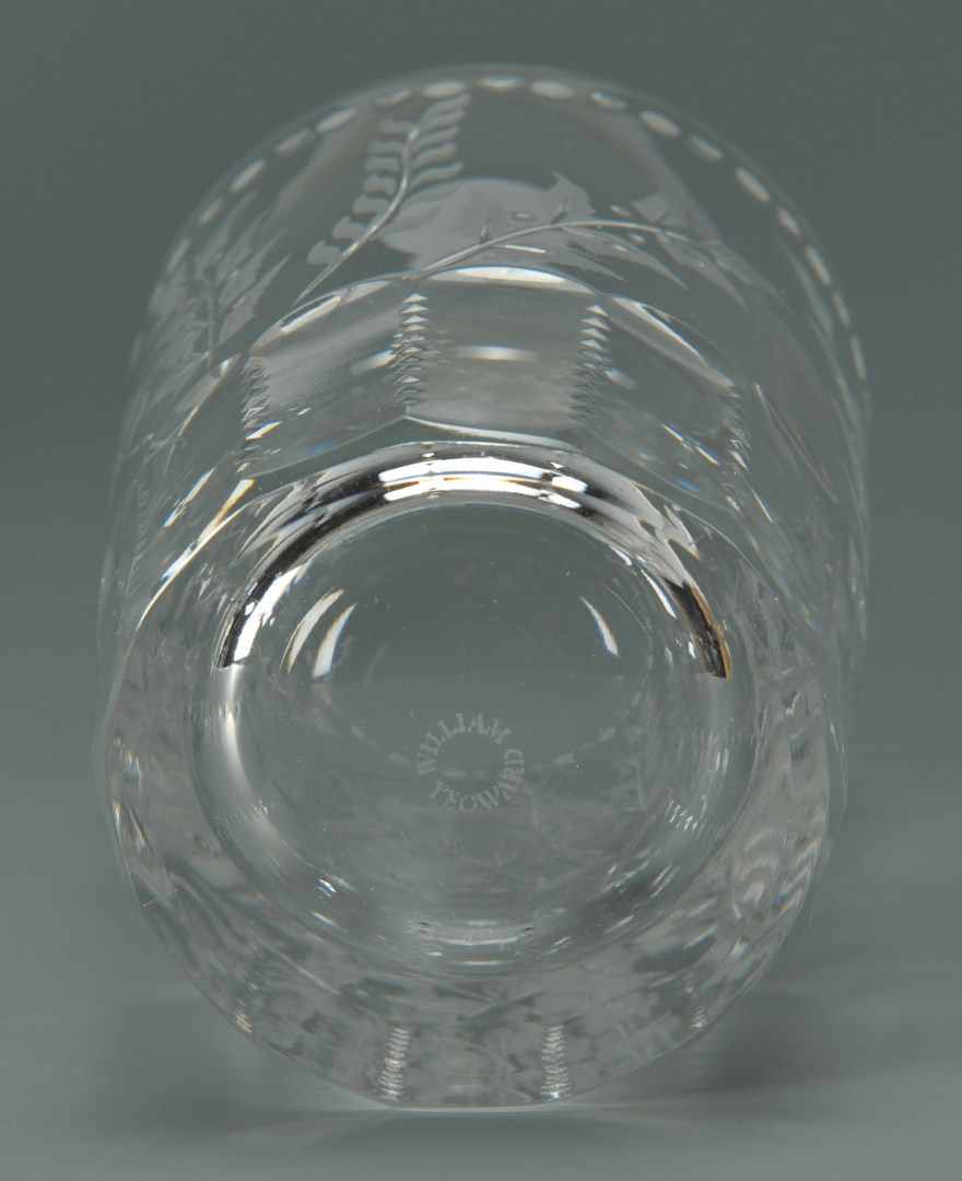 Lot 640: William Yeoward Crystal Glasses, Fern Pattern