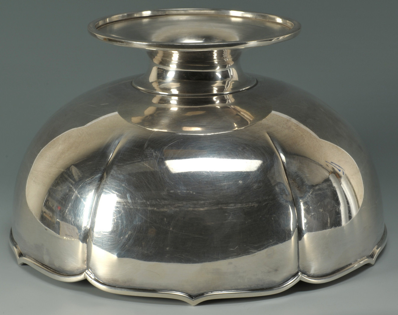 Lot 65: 950 Sterling Silver Centerpiece Bowl