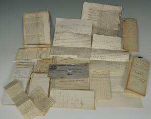 Lot 80: General Benjamin Butler archive relating to confis