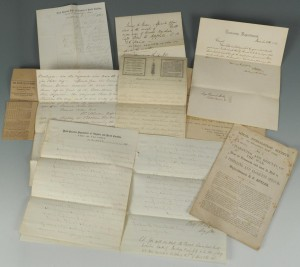 Lot 81: General Benjamin Butler Civil War Letter Archive