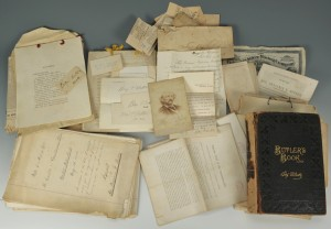 Lot 85: Lot of Gen. Benjamin Butler Governor Related Docum