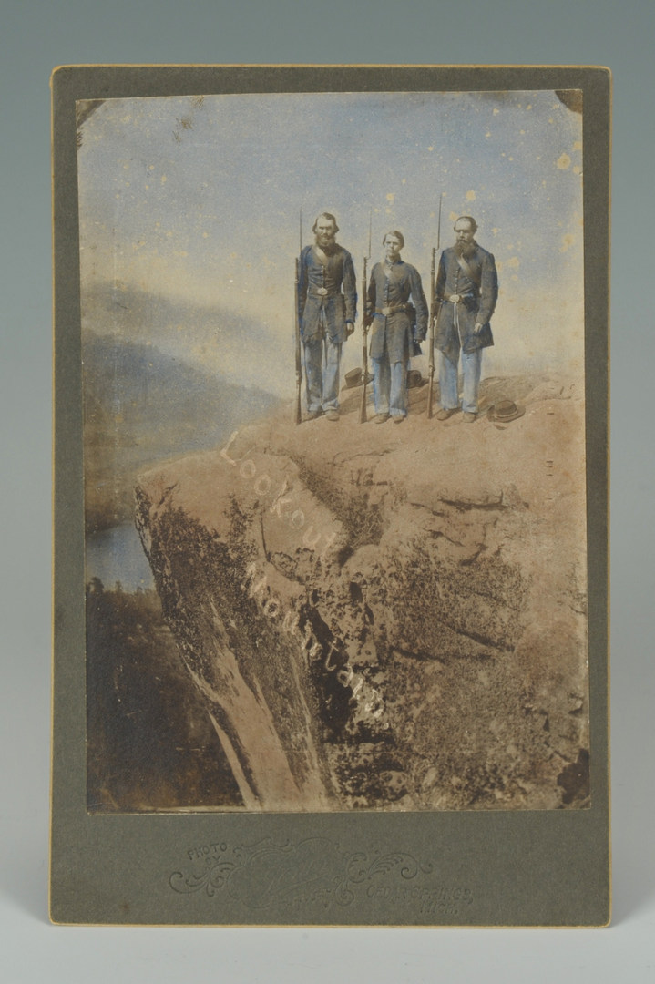 Lot 86: Civil War Lookout Mountain image, Military Items