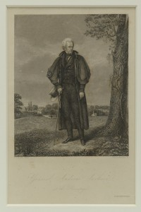 Lot 89: Print of Andrew Jackson at The Hermitage