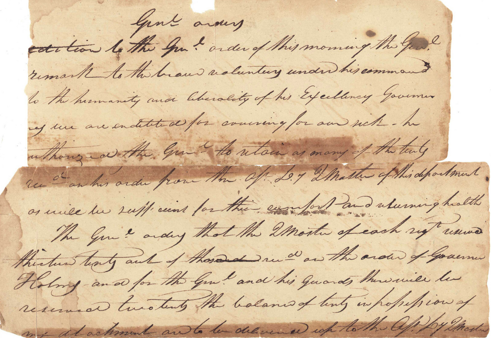 Lot 90: 8 TN Documents inc. War of 1812 requisitions
