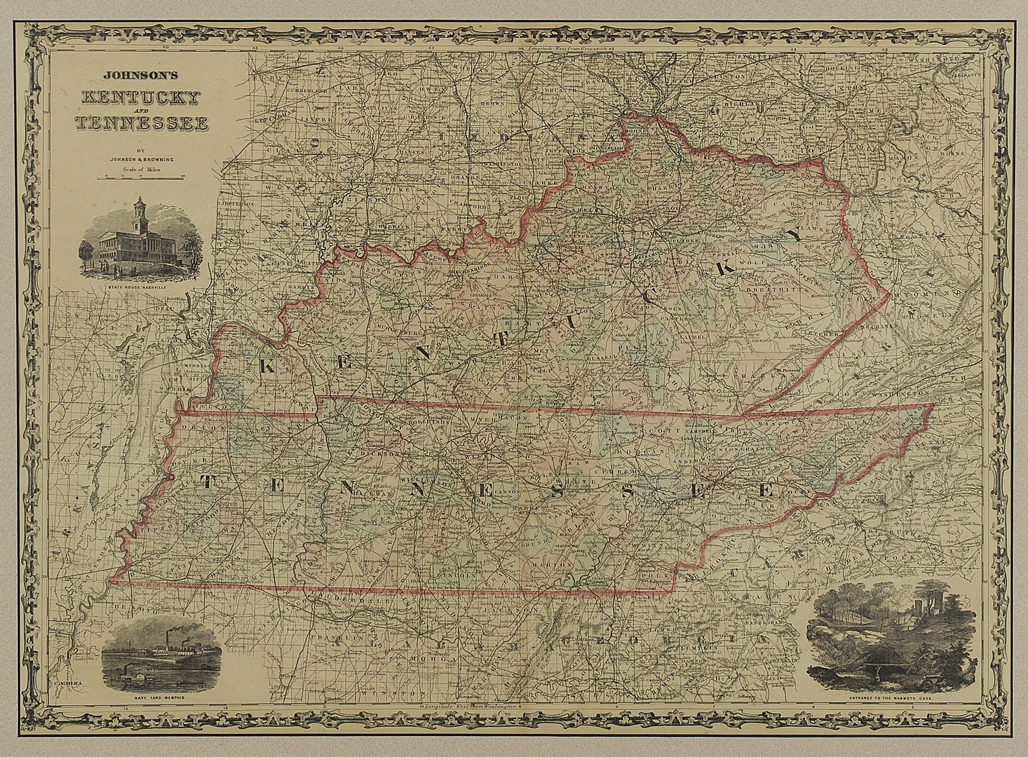 Lot 93: Two Tennessee Maps