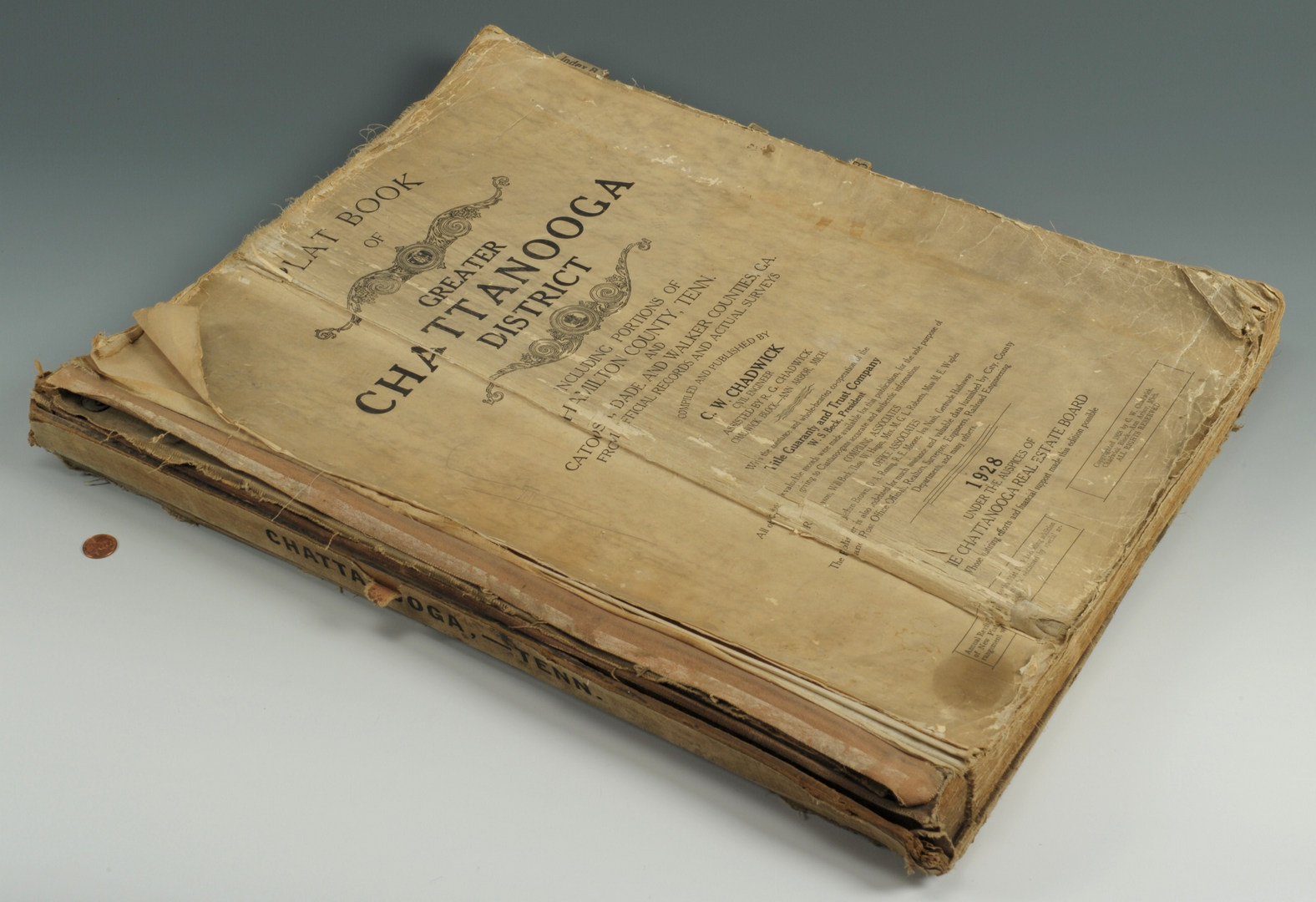 Lot 94: Plat Book of Greater Chattanooga District, 1928