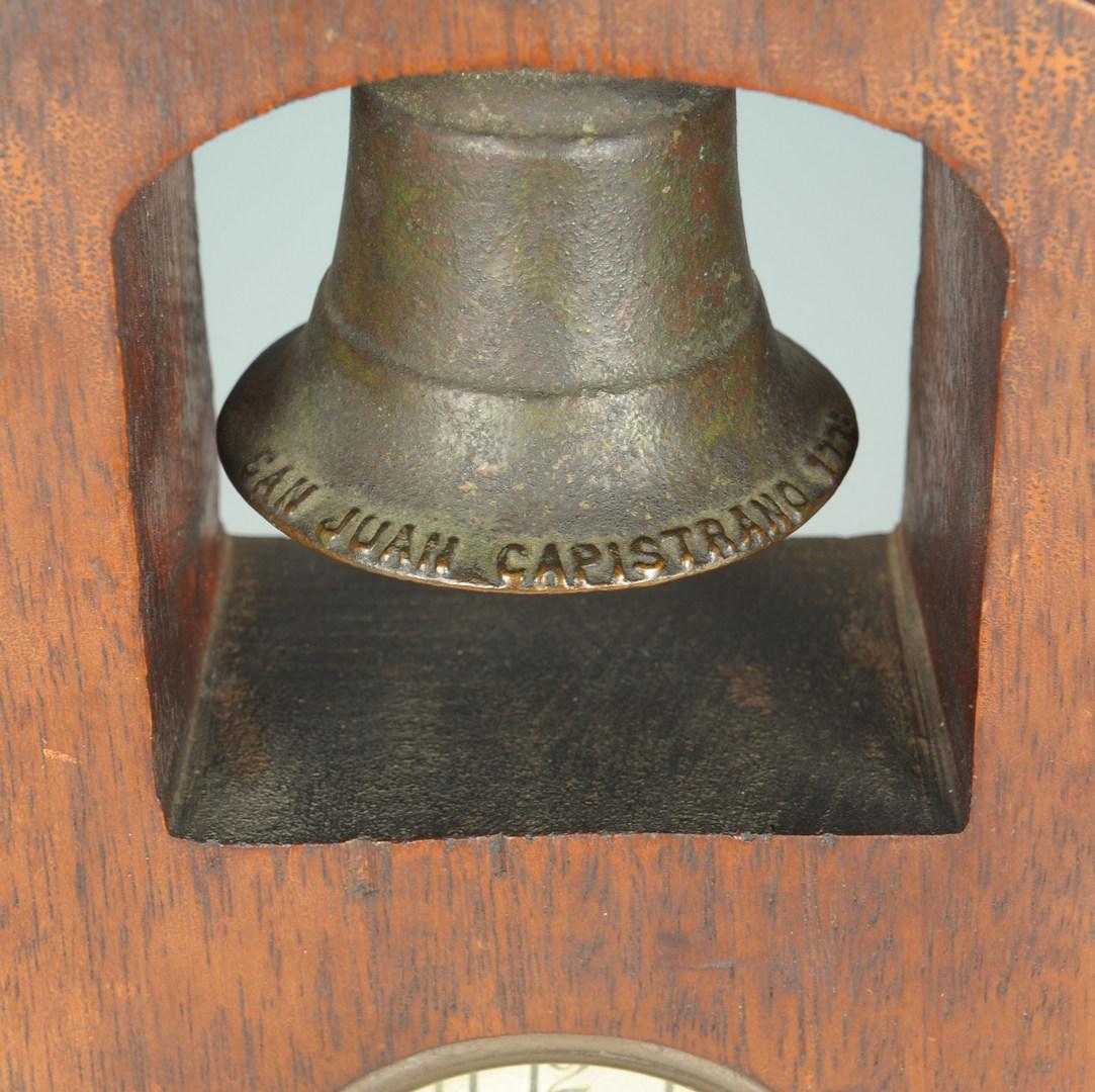 Lot 98: Edgar A. McKillop Signed Mantle Clock