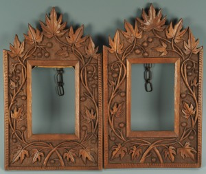 Lot 99: Pair Carved Frames Possibly Biltmore Industries