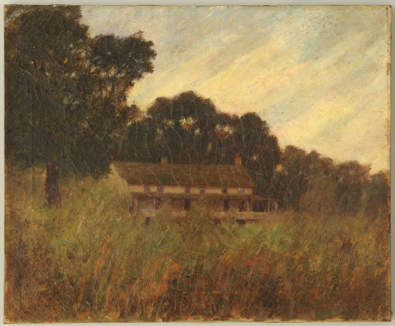 Lot __ Inv. #3034: W.P. Silva o/c, Lookout Battlefield, Cravens House