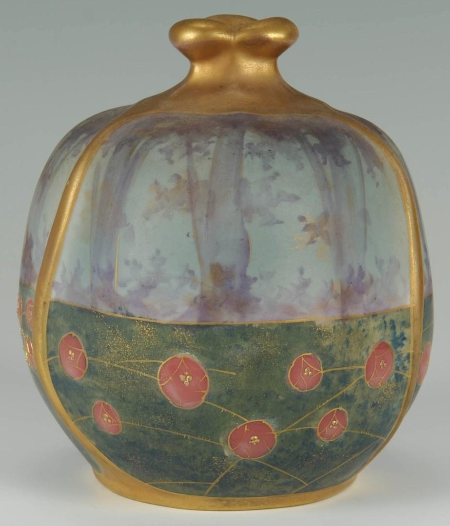 Lot __ Inv. #3993: Riessner, Stellmacher & Kessel Amphora Vase