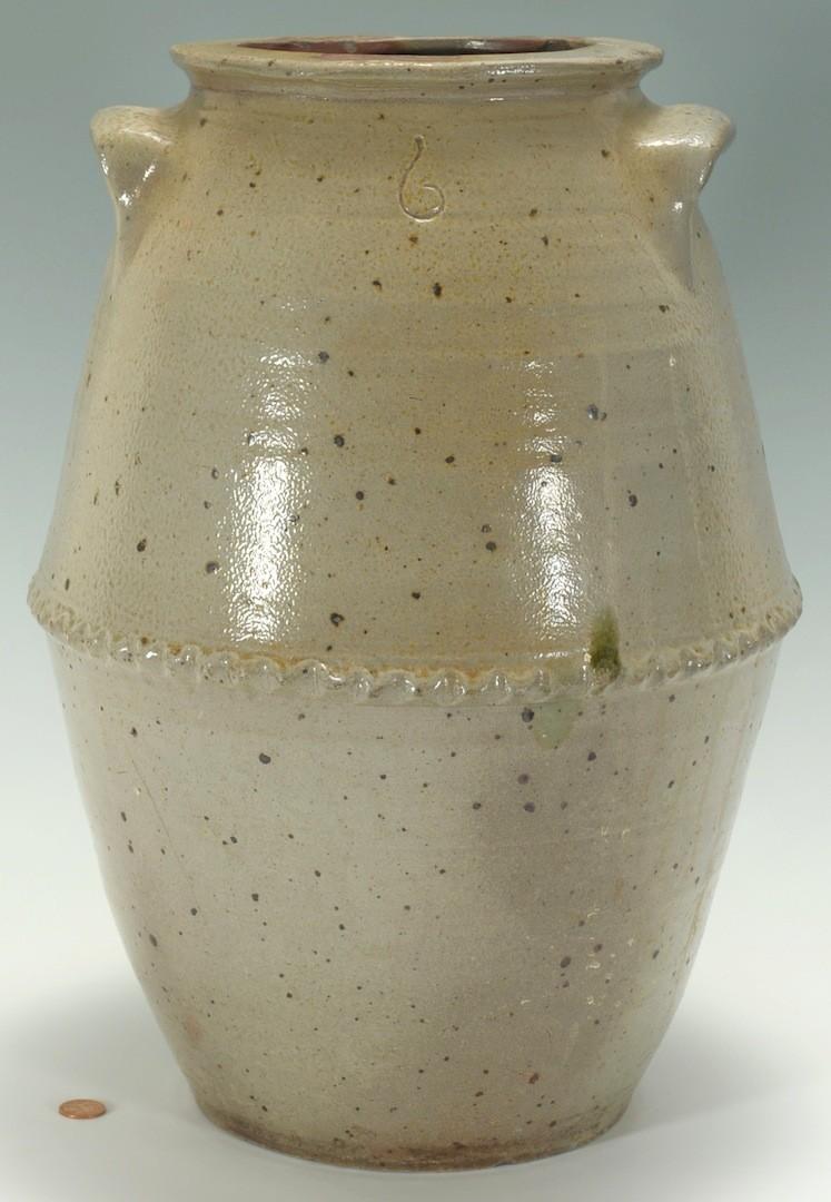 Lot __ Inv. #4083: West TN Pottery Jar, attrib. T. W. Craven