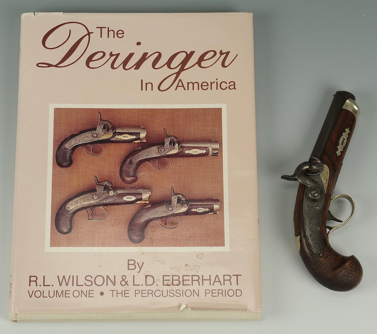 Lot __ Inv. #4095: Deringer attrib. JE Merriman, Memphis, & book