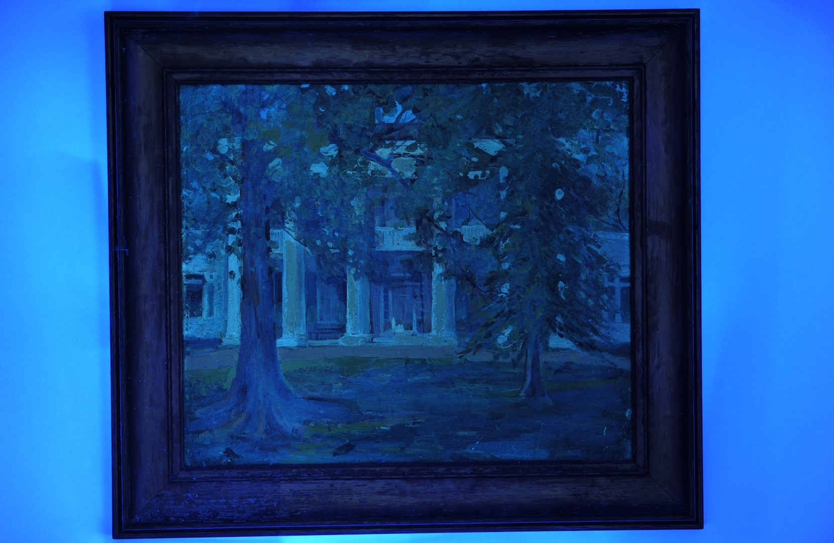 Lot __ Inv. #4224: Mayna Treanor Avent oil on board, The Hermitage
