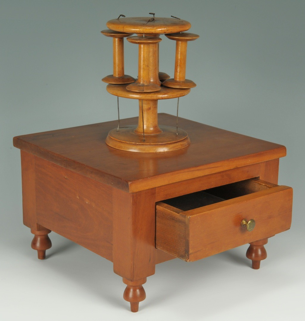 Lot __ Inv. #4259: Southern Sewing Stand, TN or KY, poss. Shaker