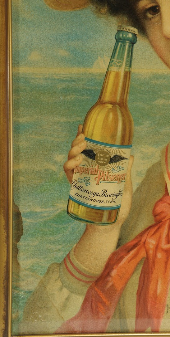 Lot __ Inv. #4275: Chattanooga Imperial Pilsner Advertising