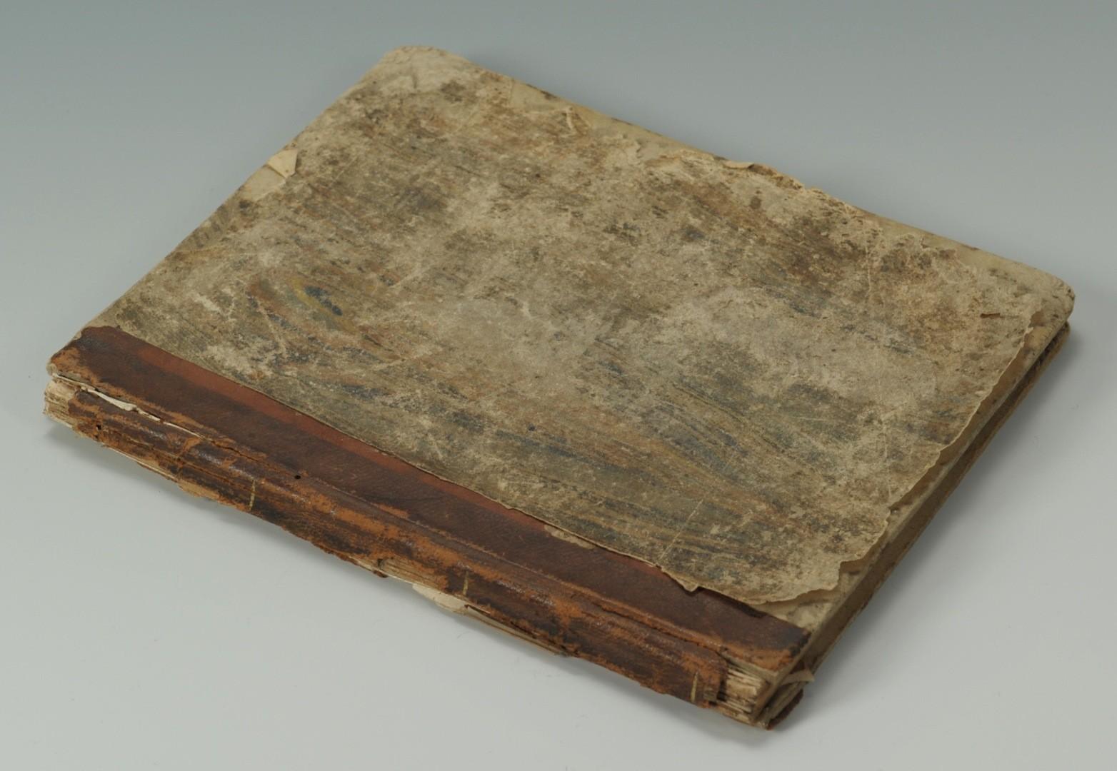 Lot __ Inv. #4528: Virginia Martin-Frye school Bookcase on Bureau