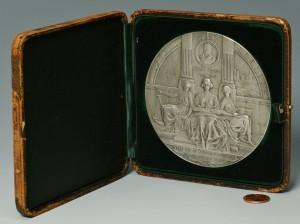 Lot 100: Hudson-Fulton Celebration 1909 Medallion