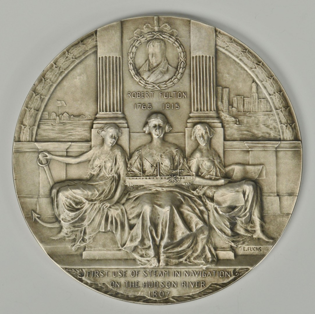 Hudson-Fulton Celebration 1909 Medallion