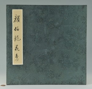 Lot 11: Chinese Painting Album w/ Birds, 16 Paintings