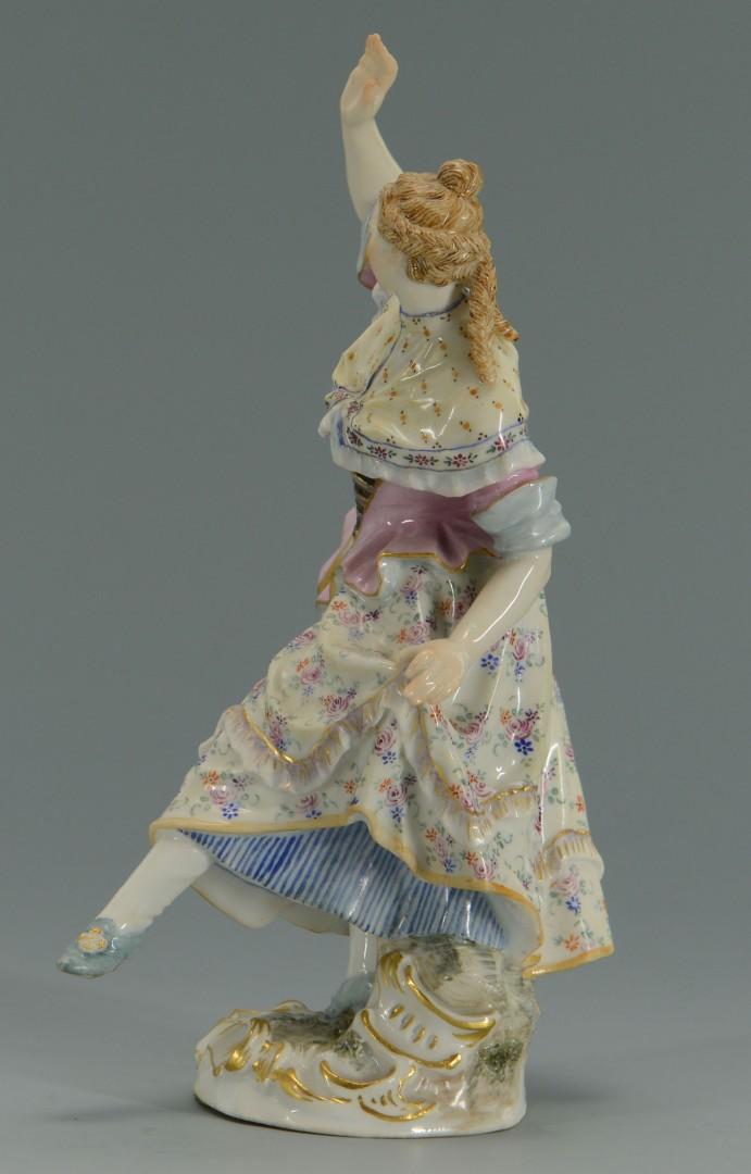 Messien Porcelain Figure of Dancing Lady
