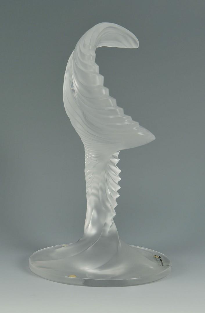 Lalique Trophee Sculpture