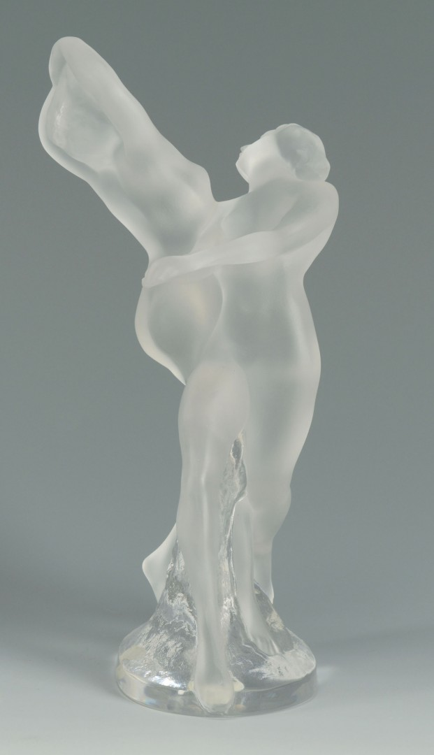 Lalique Crystal Figure of Two Dancers