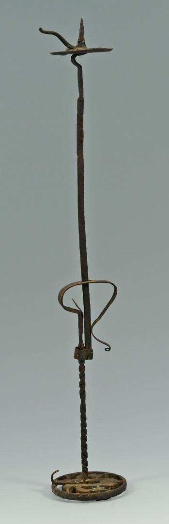 Three 18th century lighting devices