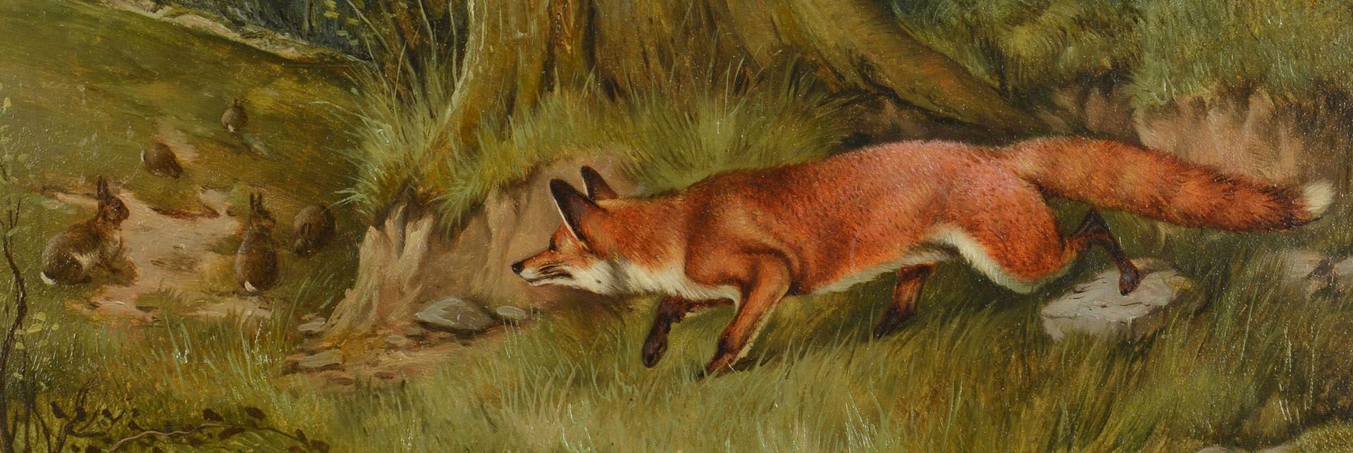 J.A. Wheeler, Fox Hunting Rabbits