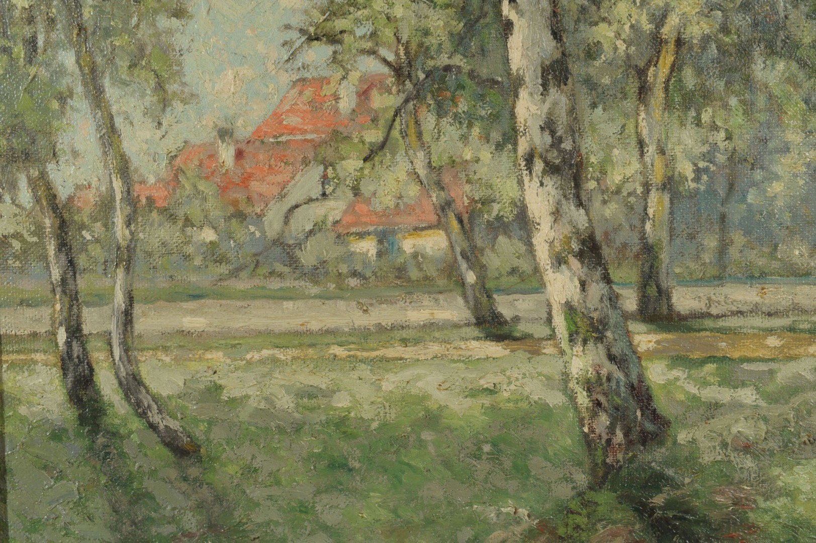 William Clusmann Impressionist Landscape Painting