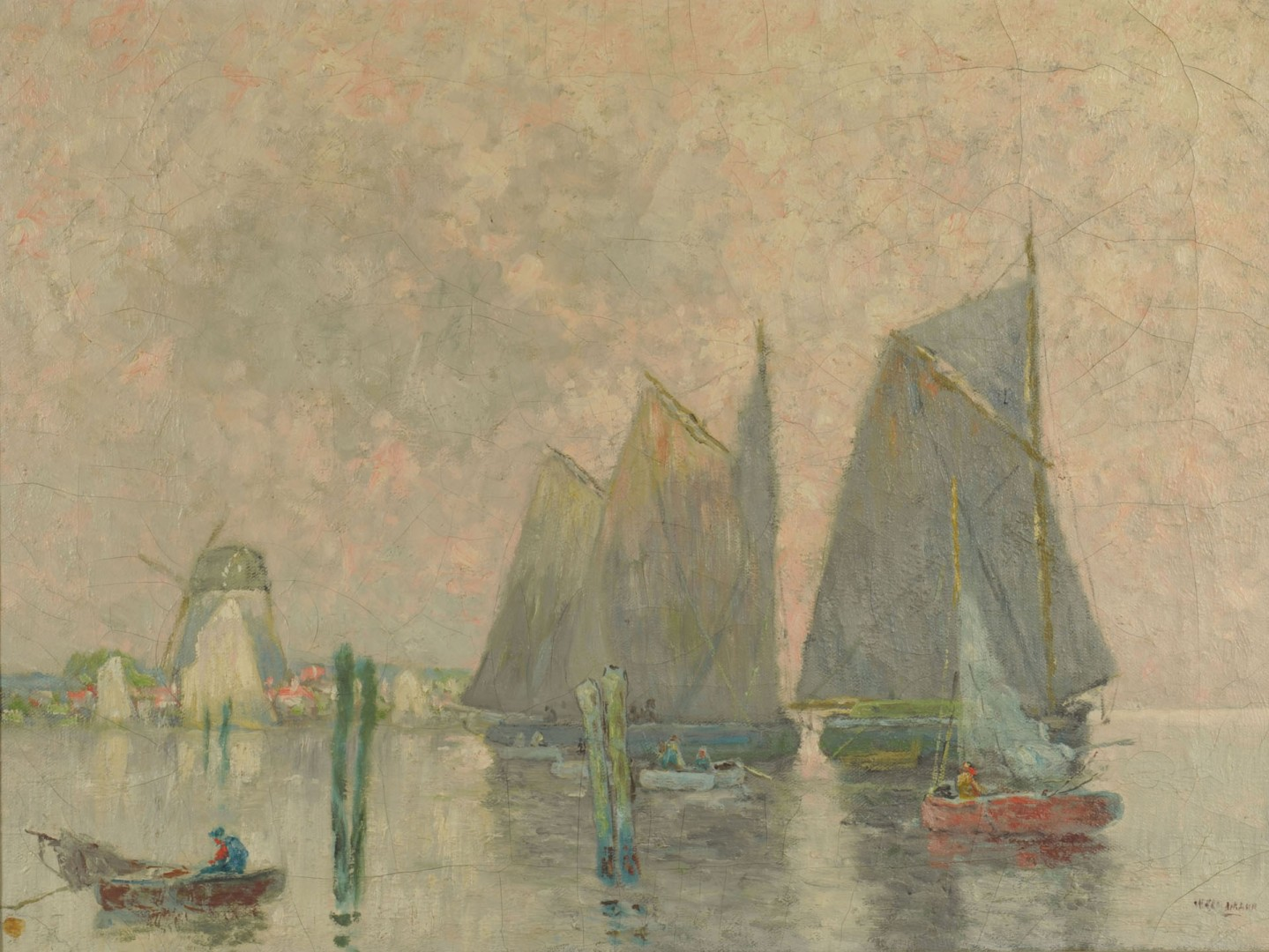 William Clusmann Impressionist Coastal Scene