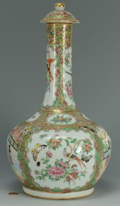 Lot 19: Rose Medallion Lidded Water Bottle