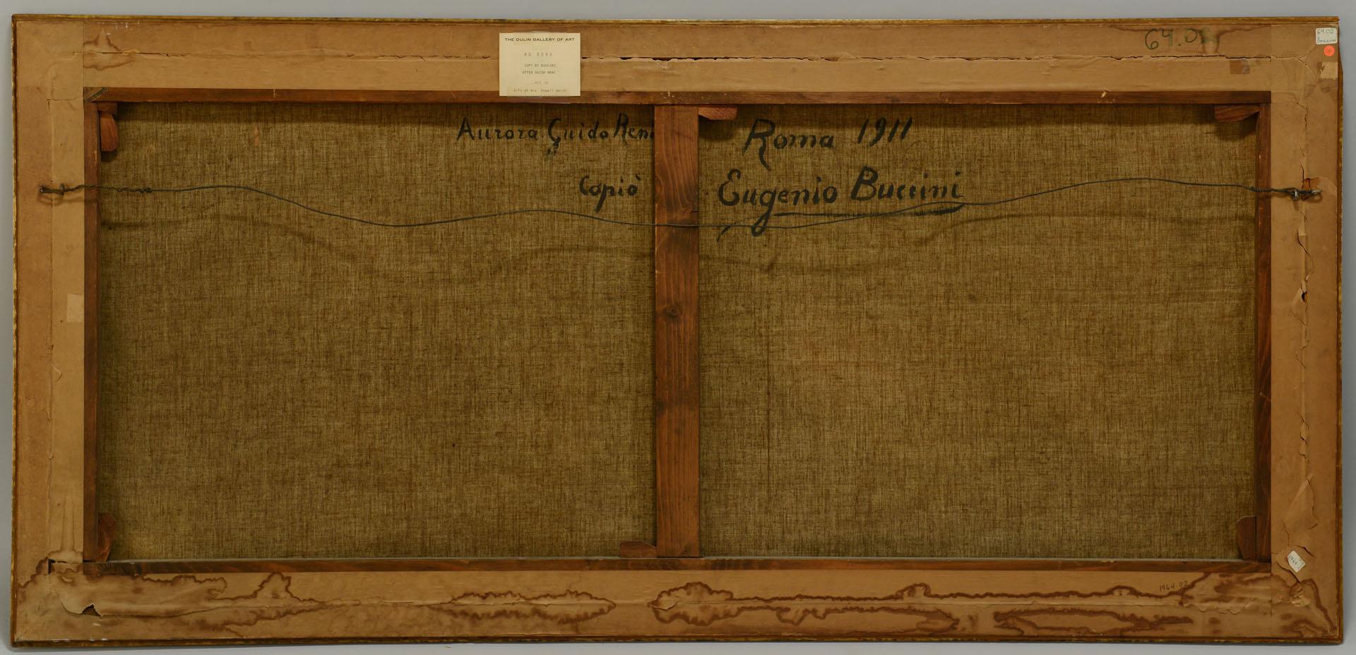 Lot 204: Eugene Buccini Oil on Canvas, Aurora