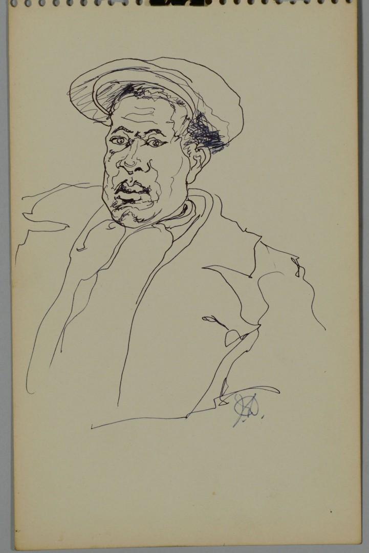 3 Joseph Delaney Ink & Pencil Drawings