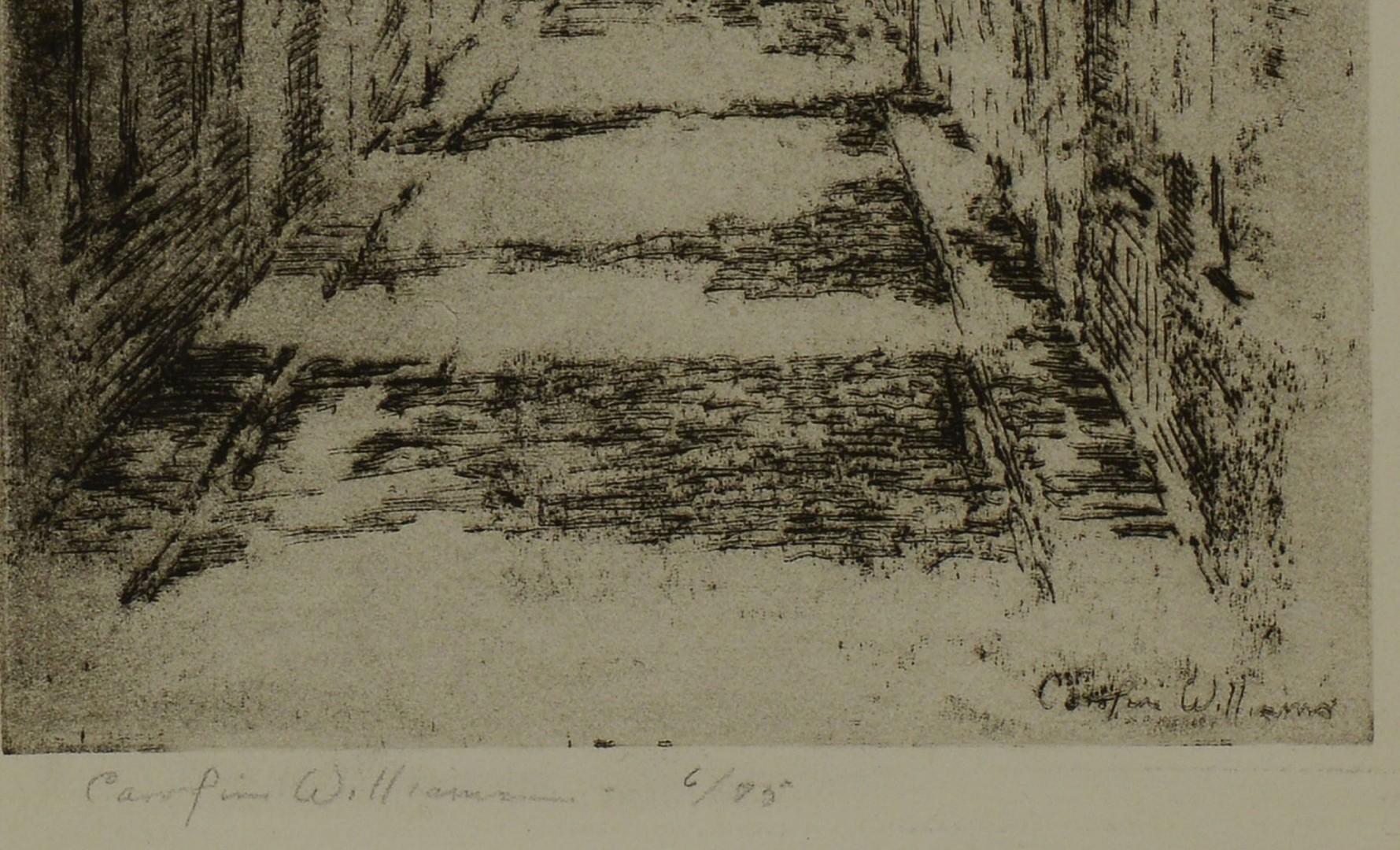 2 Cincinnati Etchings by E. Hurley & Williamson